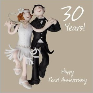 Customary Traditions Of The 30th Wedding Anniversary