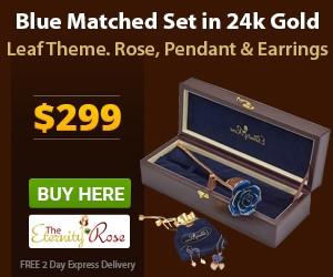 blue matched set