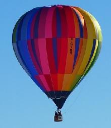 hot balloon ride gift